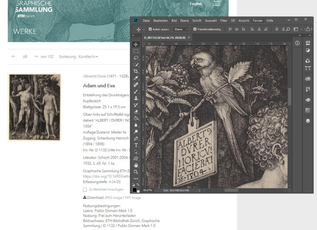 graphische Sammlung ETH Zürich - Sammlung online